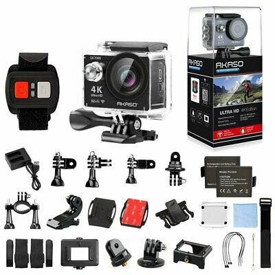 4K Sport Go Pro Action Camera Ultra HD Fun 12MP WiFi Waterproof Remote Control