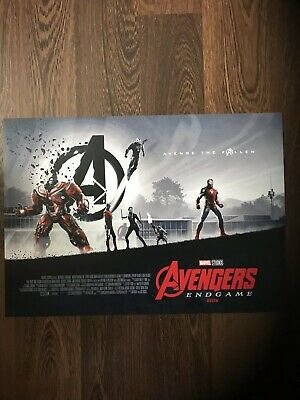 Marvel Avengers Endgame ODEON Exclusive Poster Matt Ferguson 2/2