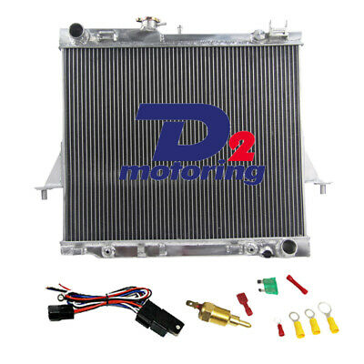 3Row Aluminium Radiator For Holden Rodeo RA 3.5L 3.0TD 2003-2007 04 05 06 AT//MT