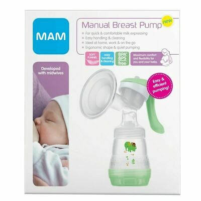 MAM Manual Breast Pump - Monkey/Elephant