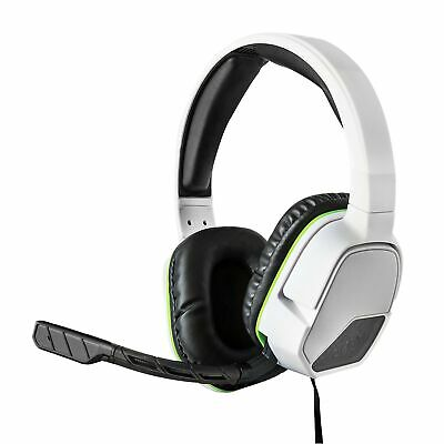 PDP Afterglow LVL 3 Wired Headset for Xbox One, White - LVL 3 Edition