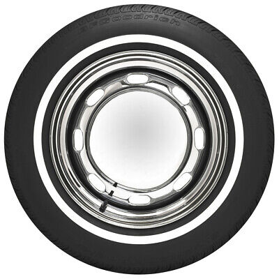 "Coker 165R15 BFGoodrich 3/4"" Whitewall Radial Tire (Perfect For VW Beetle)"