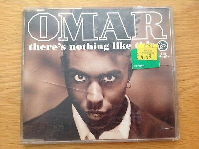 OMAR - There's nothing like this (incl. 3 versions, 1991) CD - 4 tracks