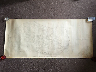 Map of Brownsea Island, Poole, Dorset date unknown