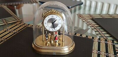 Vintage Timemaster Dome Clock With Dancing Figures