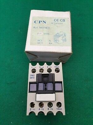 CPN    NC1 0910 Contactor 24 V Coil 25 Amp