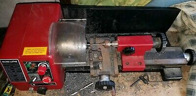 150x250mm Variable Speed Mini Hobby Lathe with Auto Feed