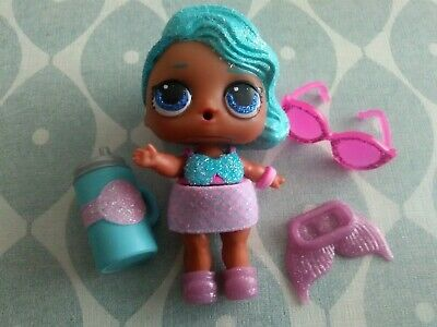 RARE Authentic No gold dust LOL Surprise Doll SPLASH QUEEN Bling Series Doll Toy