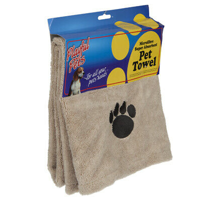 Microfibre Super Absorbent Pet Cleaning Towel - Puppy Drying Blanket