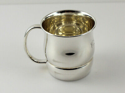 """Towle 10792 Sterling Silver Baby Communion Cup - 2 3/4"""" - w/Monogram"""