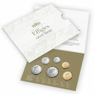 2019 Australia - Effigies Over Time Of Qeii Mint Uncirculated 6 Coin Set