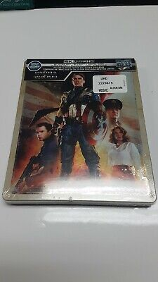 Captain America the First Avenger Steelbook Best Buy New 4K