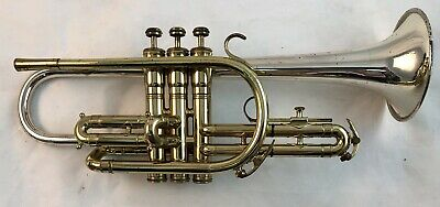 KING Super 20 Silver Sonic Master Cornet with Sterling Silver Bell