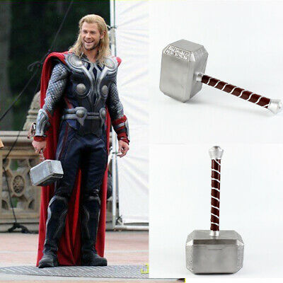 Avengers thors hammer 1:1 Cosplay costume Thor Weapon Replica Cosplay Prop PU