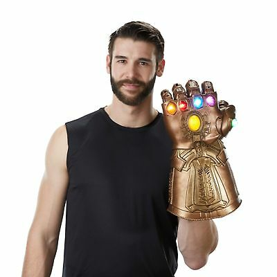 Avengers 3 Infinity War Infinity Gauntlet Thanos Gloves Cosplay Prop Halloween