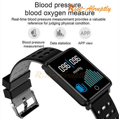 New Waterproof Smart Watch Heart Rate Monitor Bracelet Wristband for iOS Android