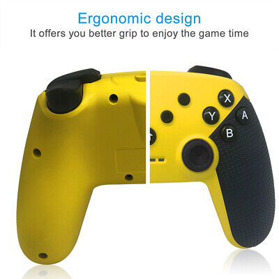 Pro Wireless Controller For Nintendo Switch Yellow GamePad Joystick for PS3 PC
