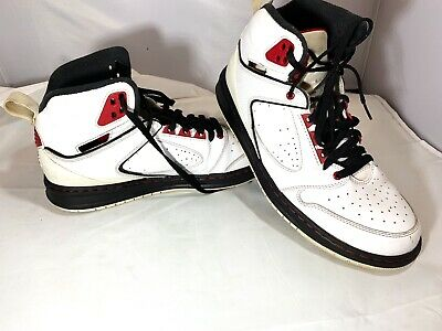 e77934b34b5e5c NIKE AIR JORDAN Sixty Club Mens Basketball Shoes Size 9 White 535790 ...
