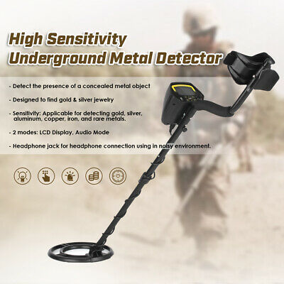 MD3030 UNDERGROUND METAL Detector Gold Stud Finder Treasure