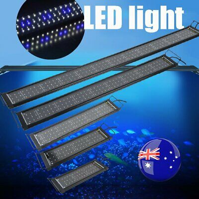 45-120CM Aquarium LED Lighting 1ft/2ft/3ft/4ft Marine Aqua Fish Tank Light NSW