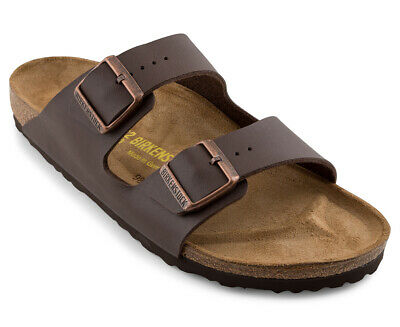 Birkenstock Arizona Unisex Narrow Fit Sandal - Dark Brown MY46