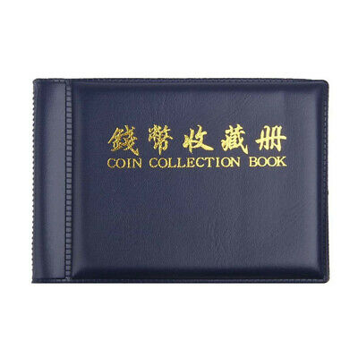 Holder Album Folder Binders Money Coin Penny Storage Book 60 Pockets Collecting