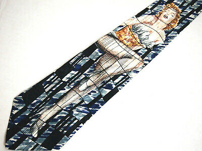 64362233383d3 Bernard of Hollywood Mens Necktie Tie Classic Pin Up Girl Marilyn Monroe 58