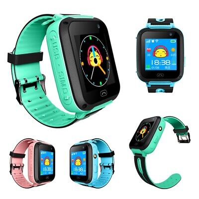 Smart  Child Watch Waterproof GPS Tracker Anti-lost SOS Call For iOS Android