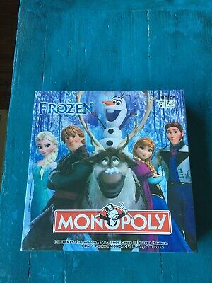 Frozen Monopoly Board Game New