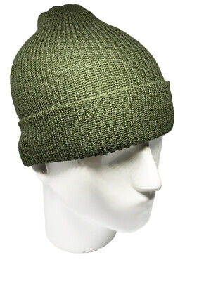 Watch Cap - Wool - Olive Drab