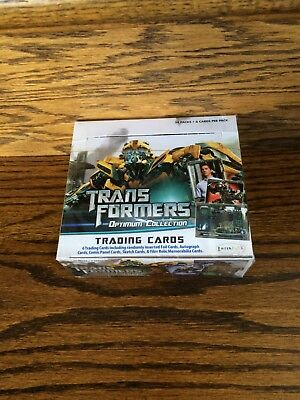 Breygent Transformers Optimum Collection HOBBY Trading Card Box Nimoy Auto?