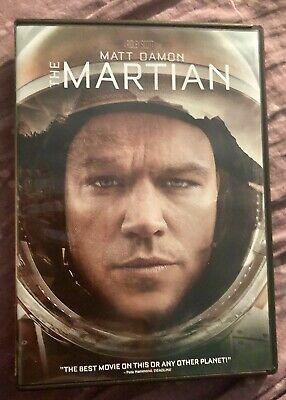 The Martian Blu-ray 3D Disc ONLY. In A Dvd Case With Artwork.