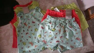 BNWT Next Shorts Vest Top Sets 18-24 Mth 1.5-2 yrs