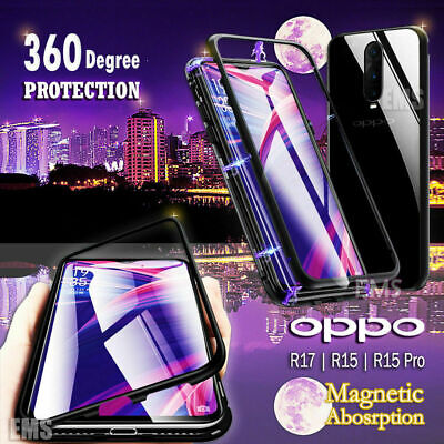 Luxury Magnetic Adsorption Flip Protection 360º Case Cover for Oppo/ Vivo Phones