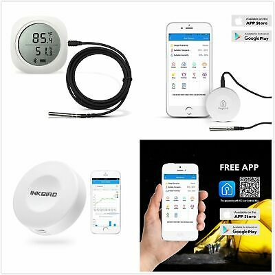 Bluetooth APP Digital Data Logger Temperature Humidity APP Remote Monitor Record