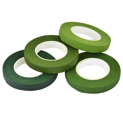 4Roll Practical Multifunctional Floral Tapes Paper Stem Wrap for Bouquet Florist