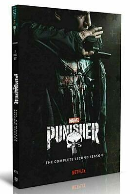 The Punisher Season 2 DVD New & Sealed 3 Disc Box Set : Free UK Delivery