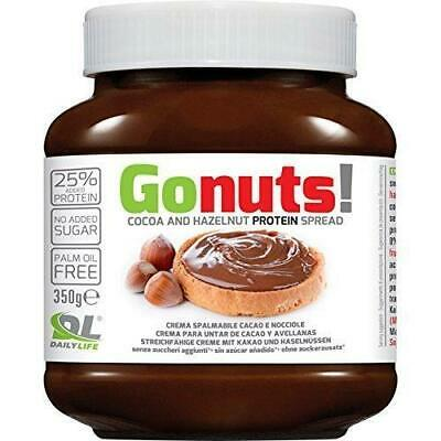 6x DAILY LIFE ANDERSON GONUTS 350g Anderson Go Nuts 350 gr Crema Proteica...