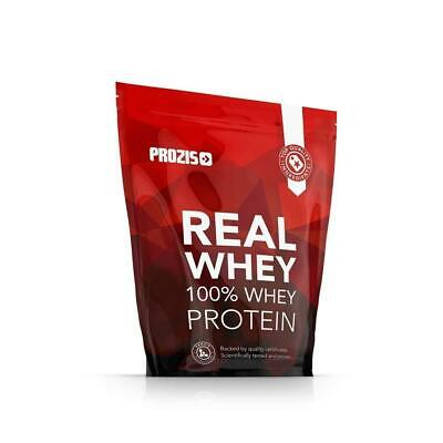 Prozis 100% Real Whey Protein Proteine in Polvere, 400 g Naturale