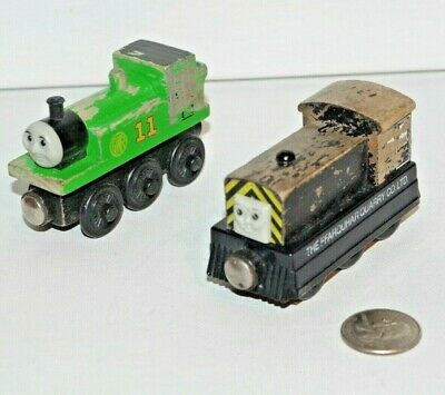Thomas Friends Wooden Railway Train Tank Engine Distressed Lot Oliver Mavis