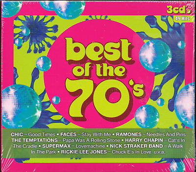 Best of the 70s, NEU/OVP (3 CD`s, 49 Hits)