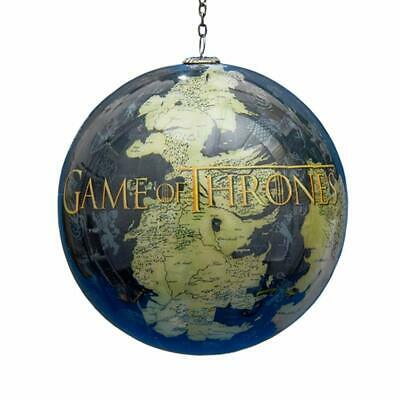 "Kurt Adler Game of Thrones Map 3.5"" Ball Ornament Standard"