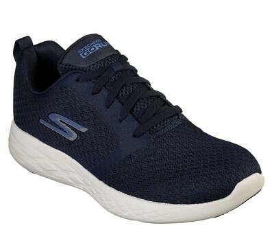 SKECHERS GO RUN 600 Circulate Mens All Black Lace Up