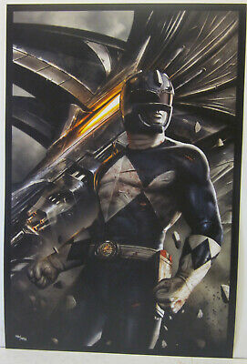 Blue Ranger by Carlos Dattoli Power Ranger Numbered Print