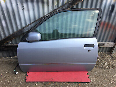 Left side Flat Wing door mirror glass for Toyota starlet glanza 96-99 heated