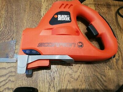 Black And Decker Scorpion 2 In 1 Reciprocating Saw And Jigsaw Wood Timber Shed
