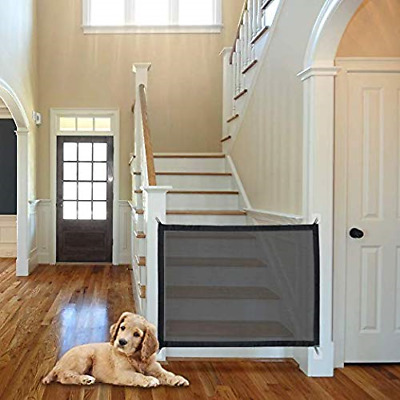 Magic Gate For Dogs Portable Folding Safe Enclosure Easy Install Anywhere Baby