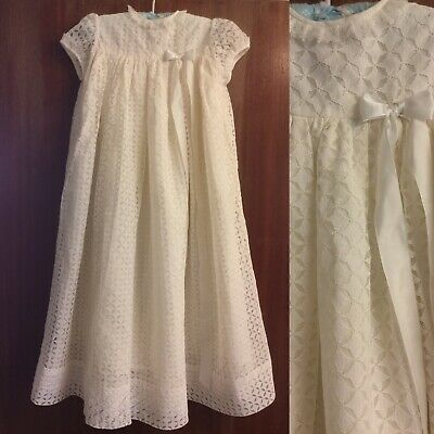Vintage 60s Christening Dress By Beta London