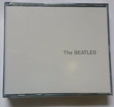 THE BEATLES  -  THE WHITE ALBUM  2 x CD  FATBOX CASE WITH BOOKLET  from USA NEW)