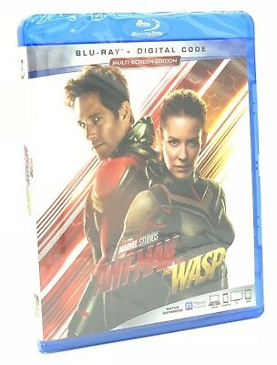 Ant-Man and the Wasp (Blu-ray+Digital, 2018) NEW
